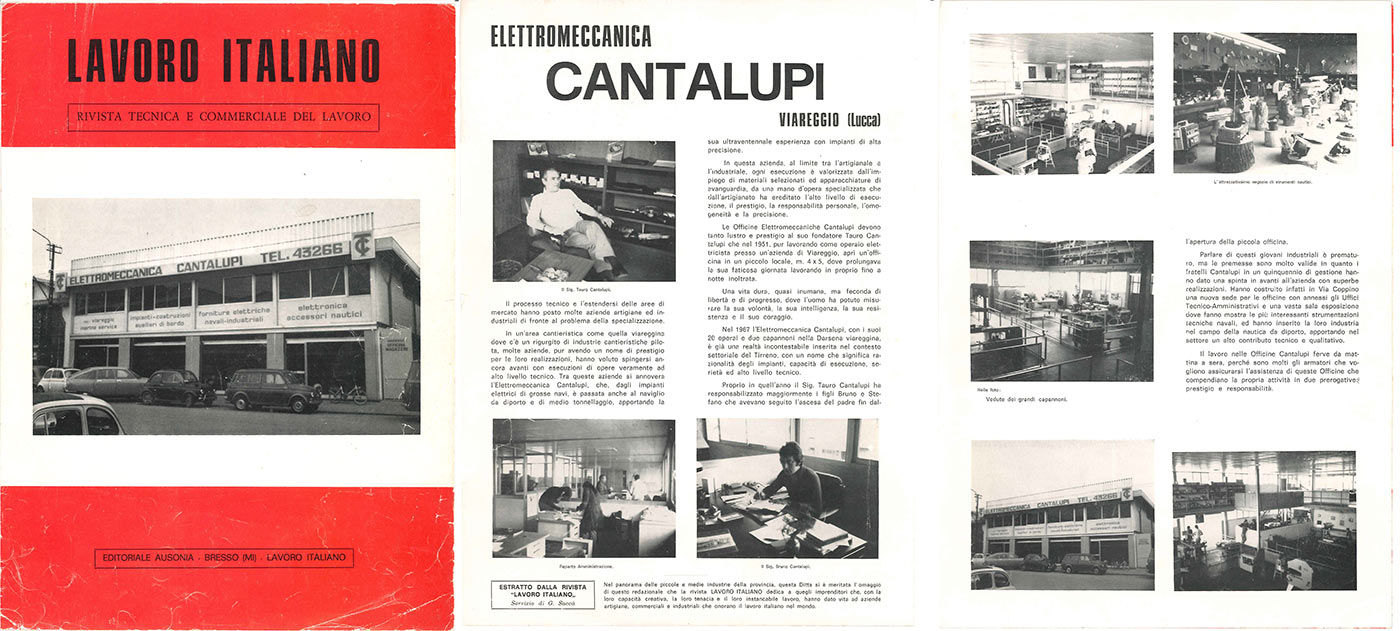Cantalupi, in '60