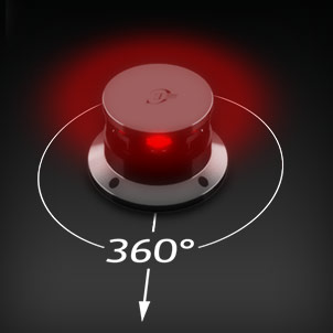 Led Navigation 360° red