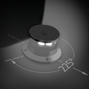 Led Navigation 225° white