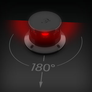 Led Navigation 180° red