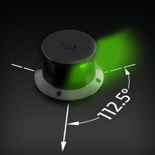 Led Navigation 112.5° green