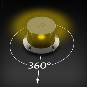 Led Navigation 360° yellow