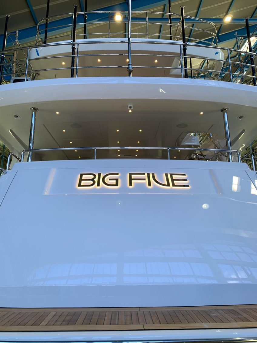 Big Five BM005 Benetti Mediterraneo