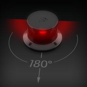 Led Navigation 180° red