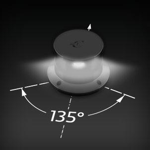Led Navigation Lights 135° white