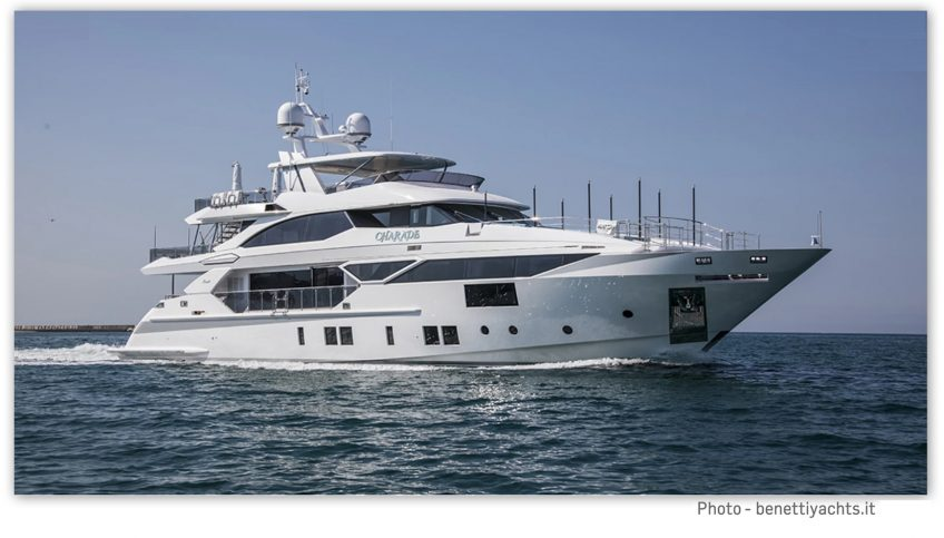 benetti m/y charade BF106